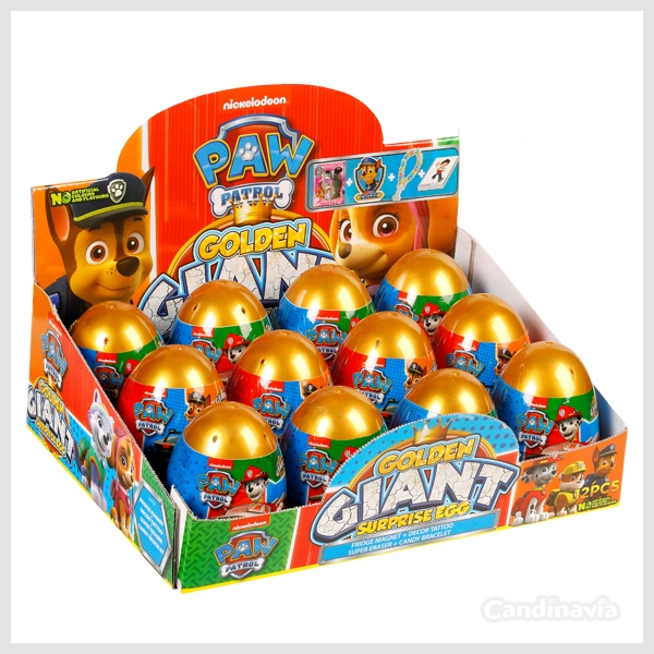 PAW PATROL GOLDEN GIANT EGGS